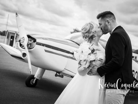 Un mariage la tête dans les nuages
