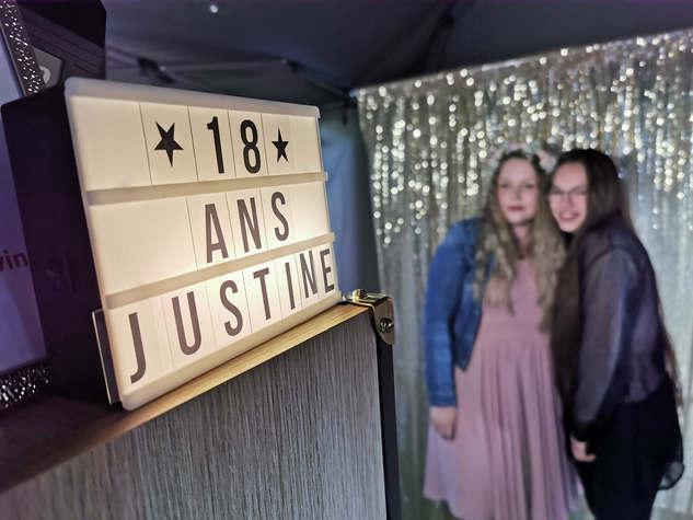 18 ans de Justine