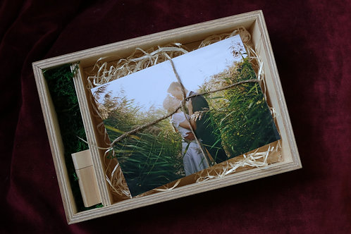 Holzgeschenkbox Natur