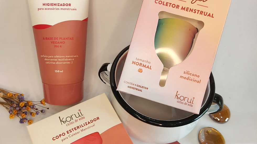 Kit Musa Ecológica - Coletor Menstrual