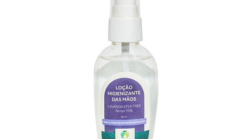 Loção Higienizante de Lavanda e Tea Tree 60 ml