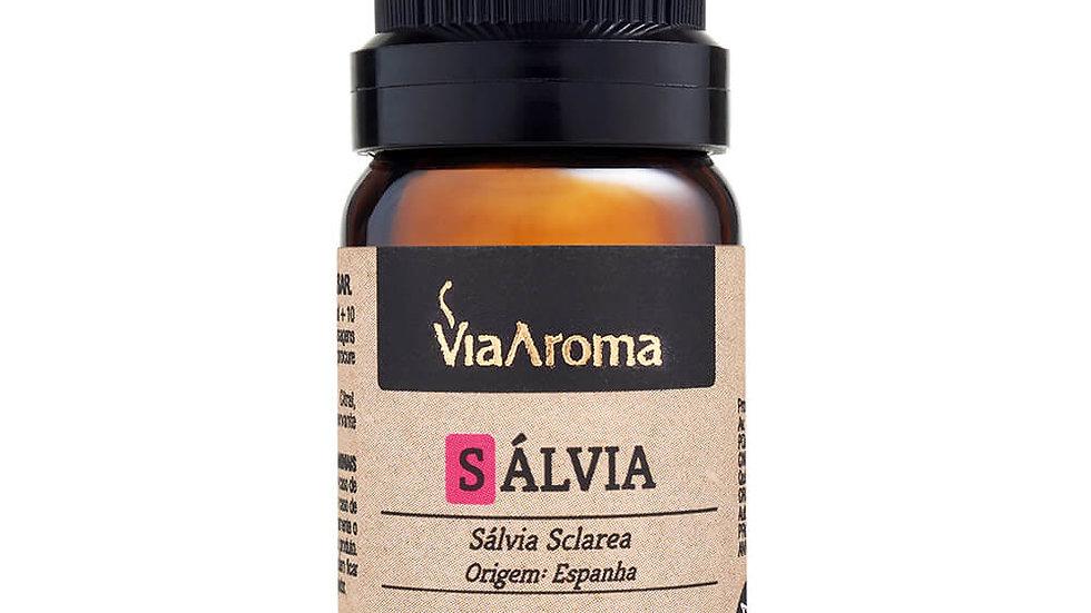 Óleo Essencial de Sálvia 10 ml