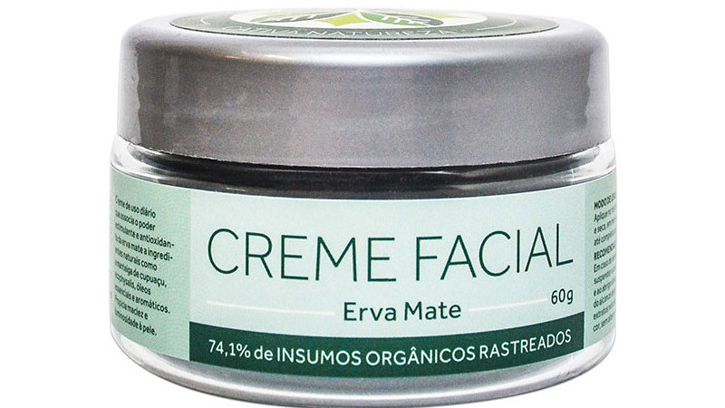 Creme Facial Erva Mate 60 g