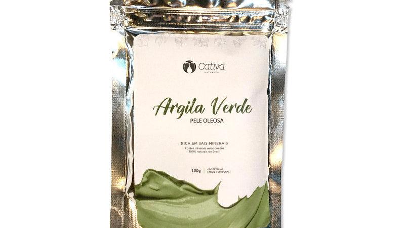 Argila Verde 100 g - Pele Oleosa