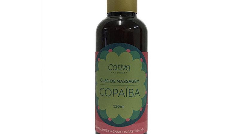Óleo para Massagem de Copaíba 120 ml