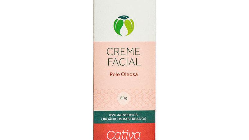 Creme Facial p/ Pele Oleosa 60 ml