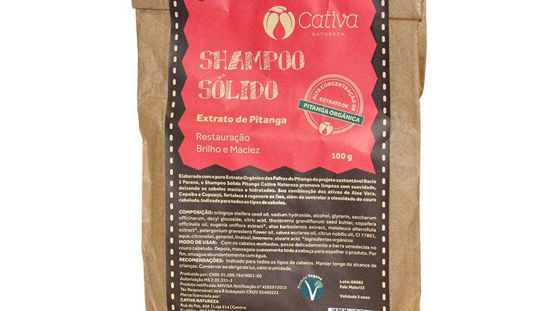 Shampoo Sólido de Pitanga 100 g