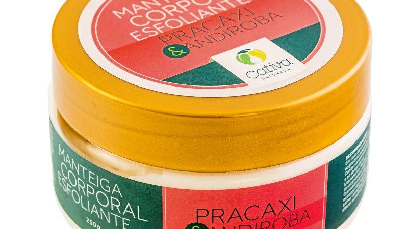 Manteiga Corporal Esfoliante de Pracaxi 250 g