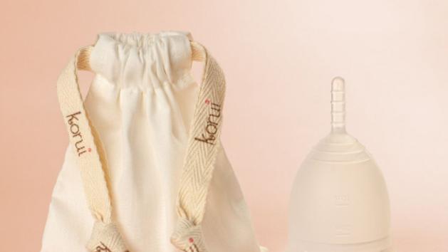 Coletor Menstrual Fluxo Moderado - Cor Brisa