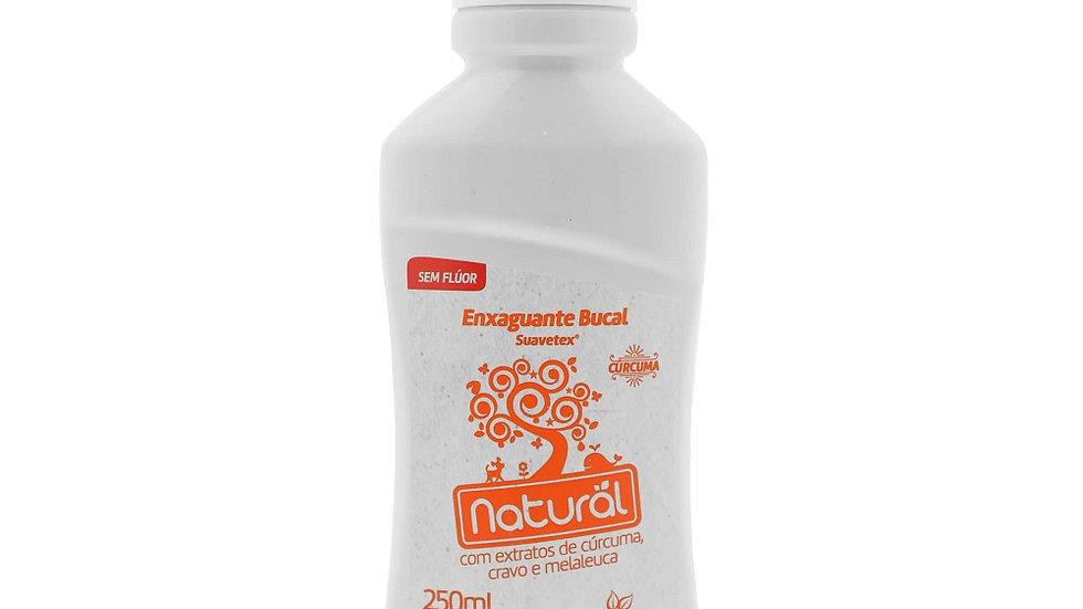 Enxaguante Bucal 250 ml - Extratos de Cúrcuma, Cravo e Melaleuca