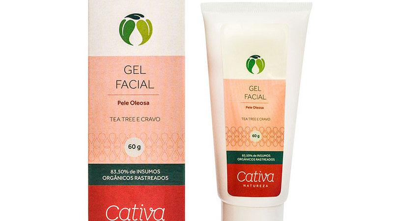 Gel Facial p/ Pele Oleosa 60 g