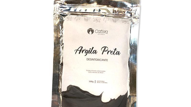 Argila Preta 100 g - Detox