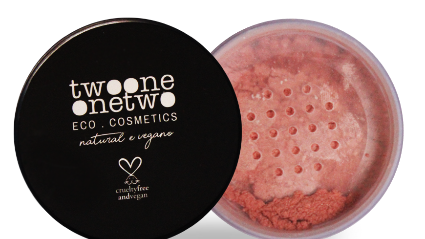 Blush Facial Leite de Coco Natural Vegano Twoone Onetwo 9 g Peach