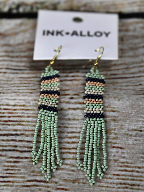 Ink & Alloy Thin Bed Earrings