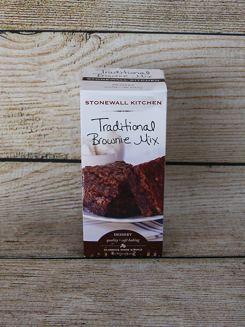 Stonewall Traditional Brownie Mix