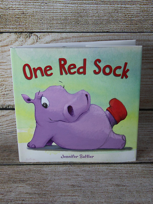 One Red Sock Hardcover Book