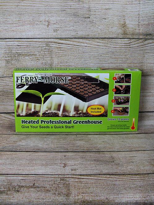 Heated Professional Greenhouse