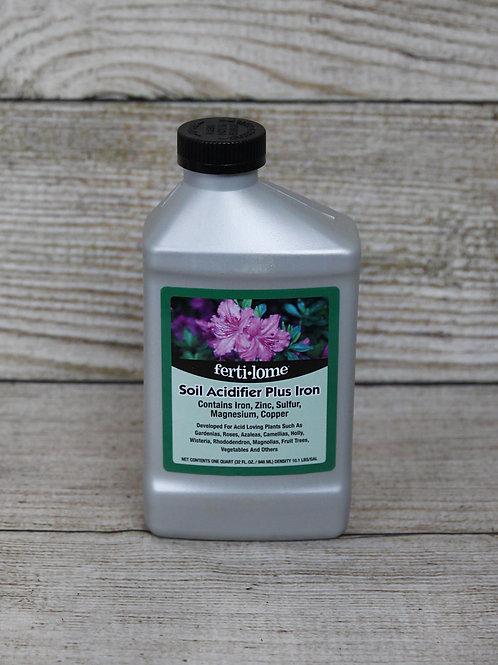 Soil Acidifier Plus Iron