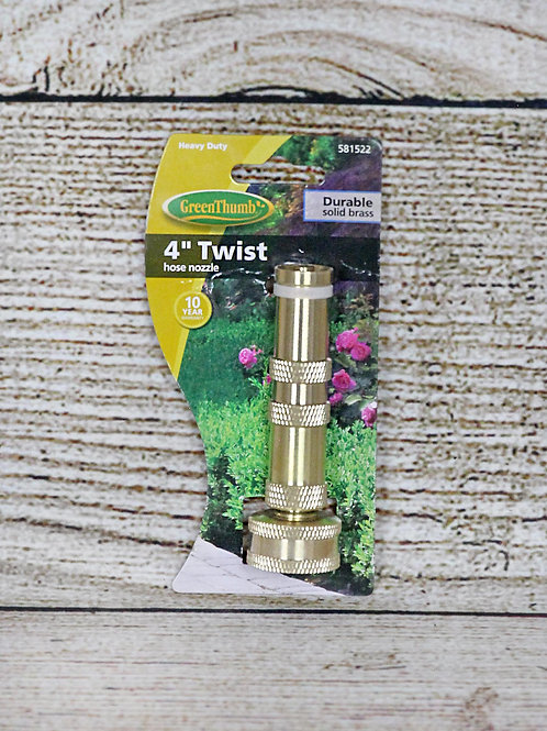 """GreenThumb 4"""" Twist Hose Nozzle"""