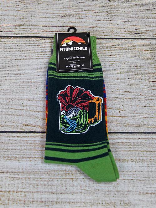 Sock Smith Atomic Child Men's Socks