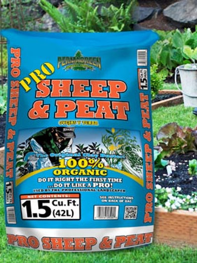 Permagreen Pro Sheep & Peat Compost