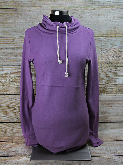 Fitted Purple Hoodie