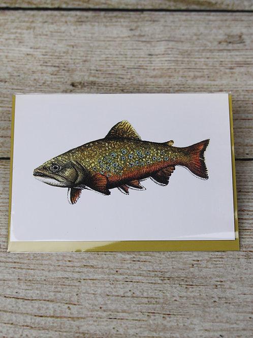 Rainbow Trout Blank Greeting Card
