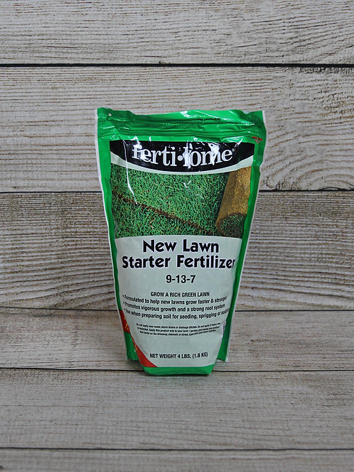 New Lawn Starter Fertilizer
