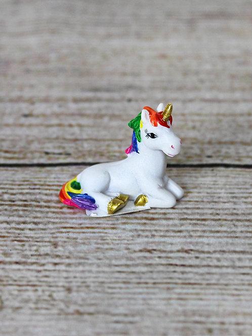 Miniature Unicorn Figurine