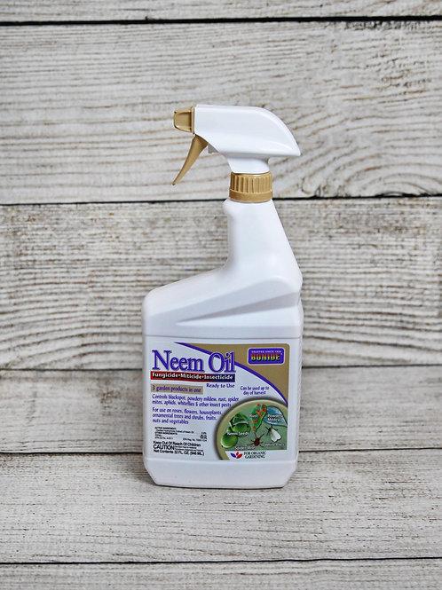 Bonide Neem Oil - Fungicide, Miticide & Insecticide