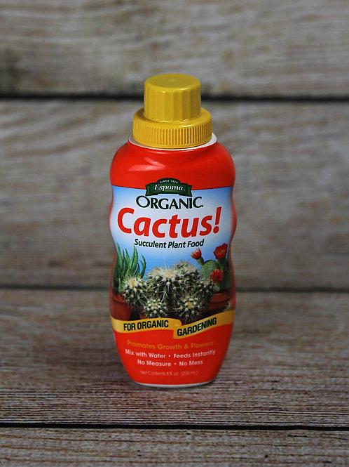 Cactus! Organic Liquid Fertilizer
