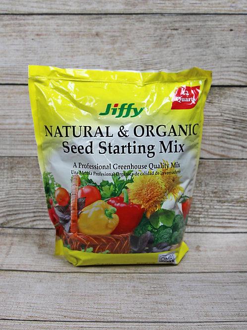 Jiffy Natural & Organic Seed Starting Mix