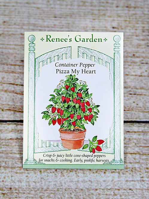 Container Pepper - Pizza My Heart Seeds