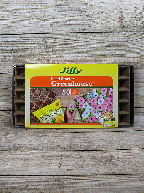 Jiffy Seed Starter Greenhouse 50 Cells
