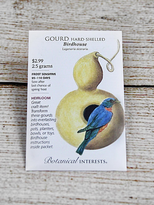 Hard-Shelled Gourd - Birdhouse Seeds