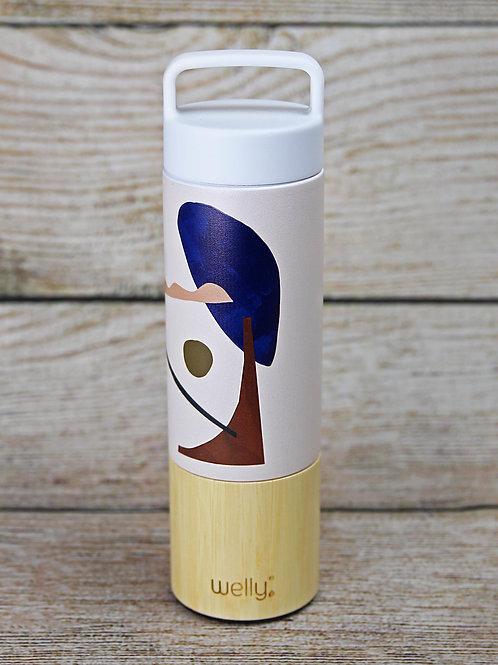 Welly Pattern Water Bottle