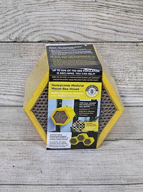 Honeycomb Modular Mason Bee House