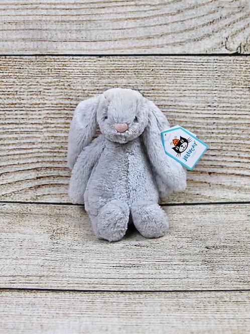 Jellycat Small Bashful Grey Bunny