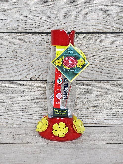 Perky-Pet Red & Yellow Hummingbird Feeder