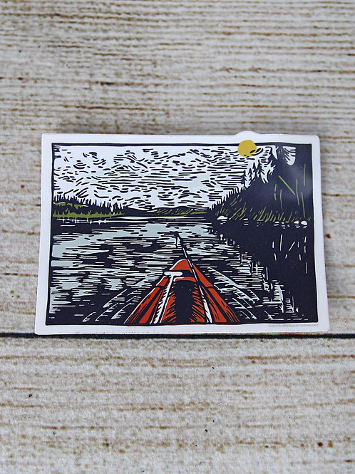 Lake Days Vinyl Sticker