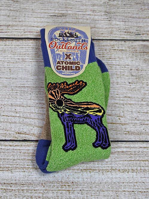 Sock Smith Atomic Child Women's Sock