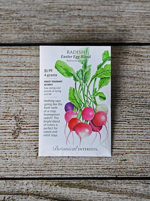 Radish - Easter Egg Blend Seeds