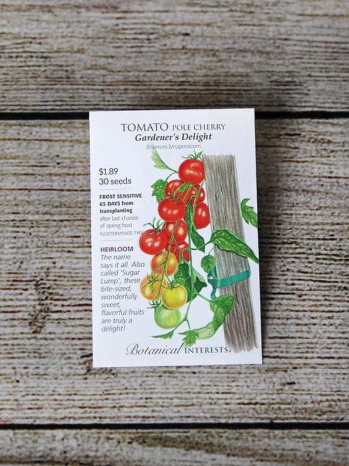 Tomato, Pole Cherry (Gardener's Delight)