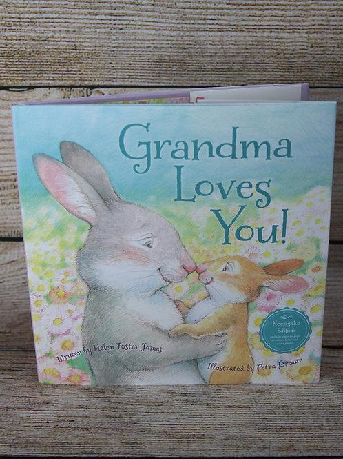 Grandma Loves You! Hardcover Book