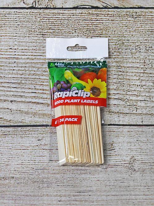 Wood Plant Lables
