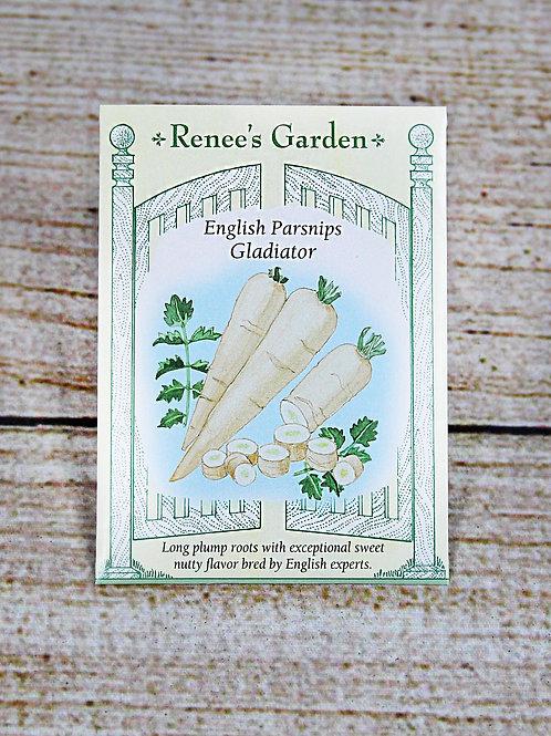 English Parsnips - Gladiator Seeds