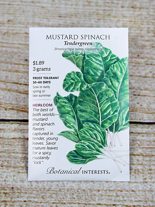 Mustard Spinach - Tendergreen Seeds
