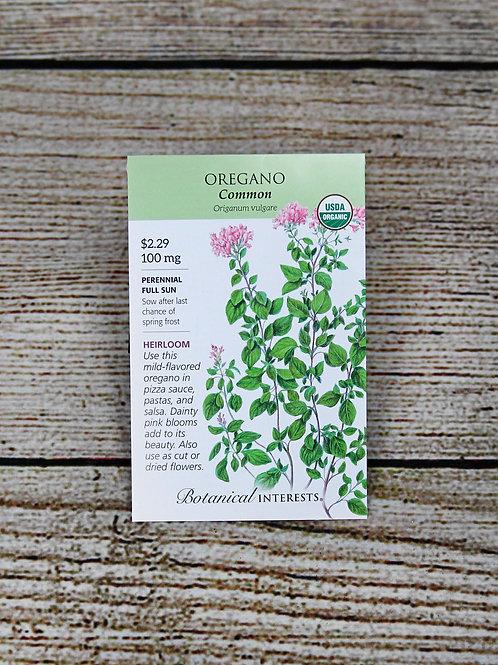 Organic Common Oregano Seeds