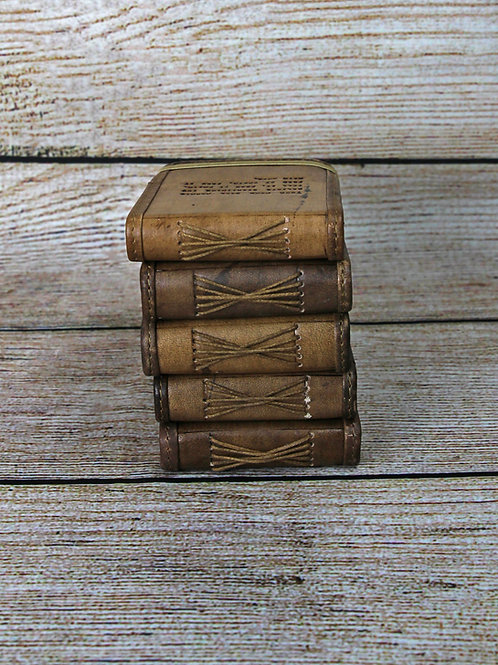 SugarBoo Small Leather Journal