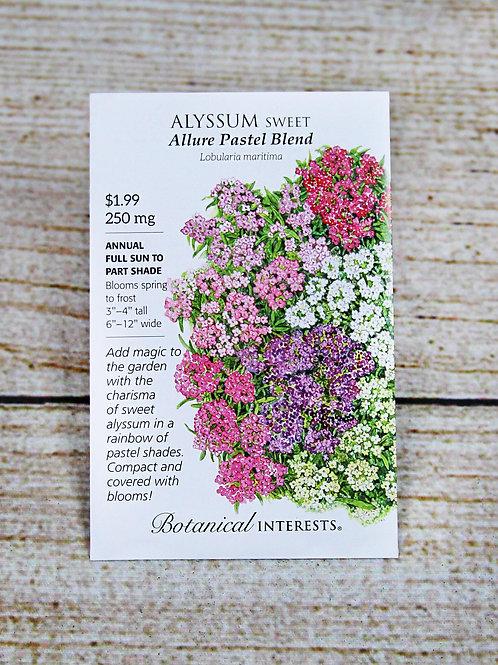 Sweet Alyssum - Allure Pastel Blend Seeds